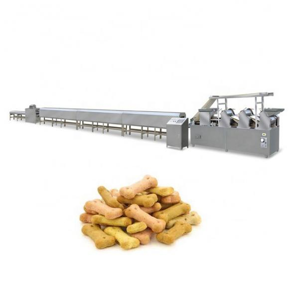 Twin Screw Extruder Dog Pet Food Biscuit Making Puffing Machines